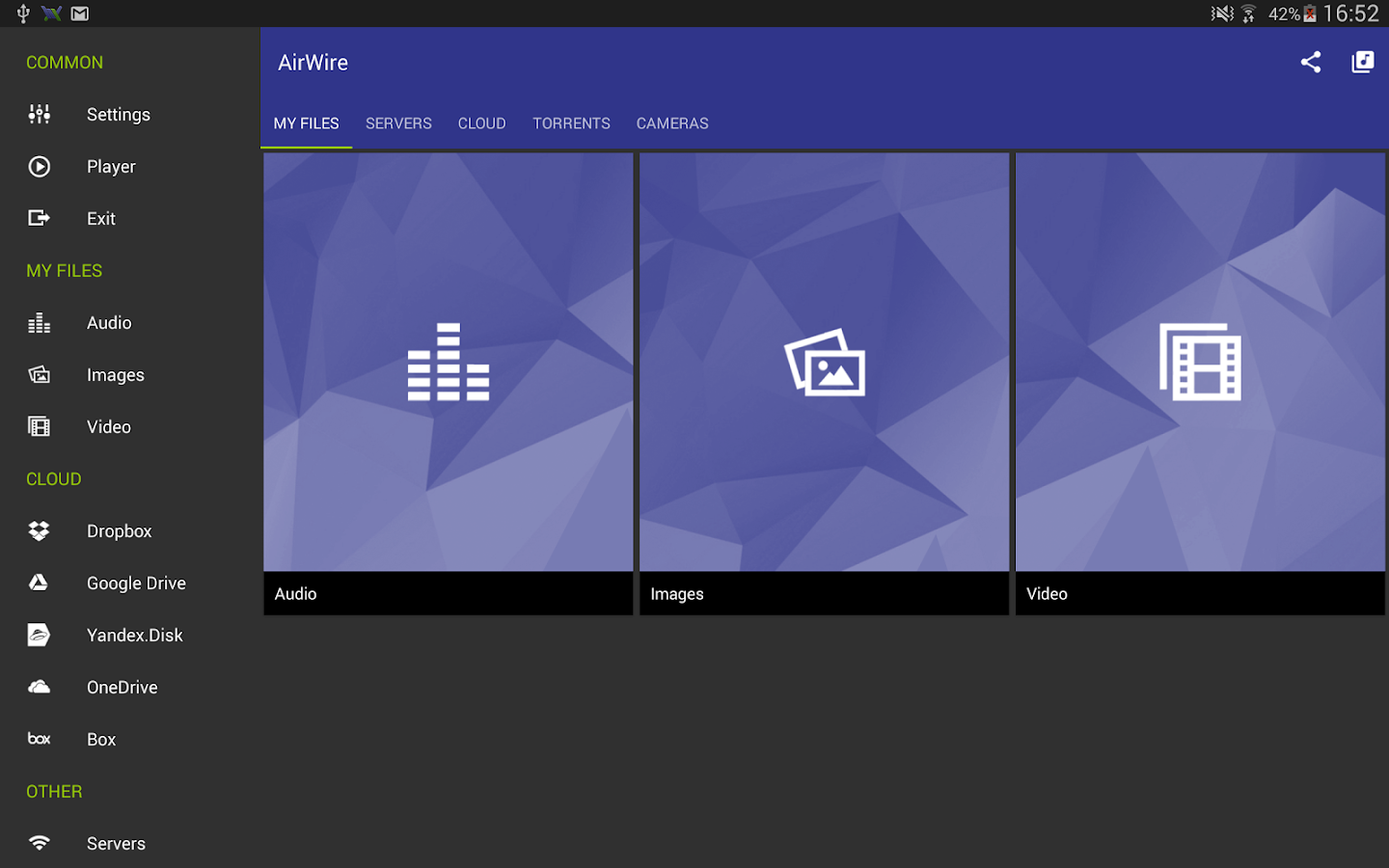 AirWire (UPnP/DLNA)- screenshot