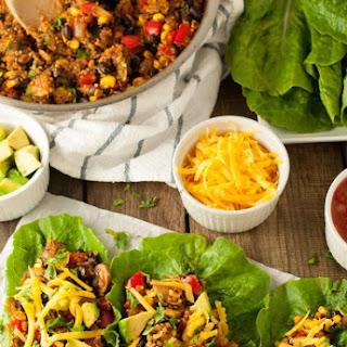 Taco Vegetarian Lettuce Wraps Recipe