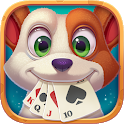 Solitaire Pets Adventure - Free Classic Card Game icon