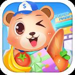 Little Bear Happy Supermarket Icon
