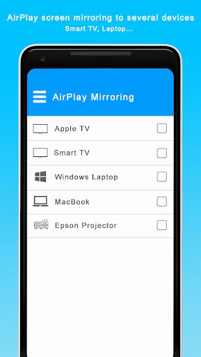AirPlay Screen Mirroring & Mirror Phone To TV 1.0 screenshots 2