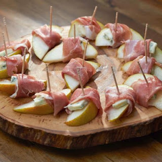 Pear with Prosciutto and Gorgonzola Recipe
