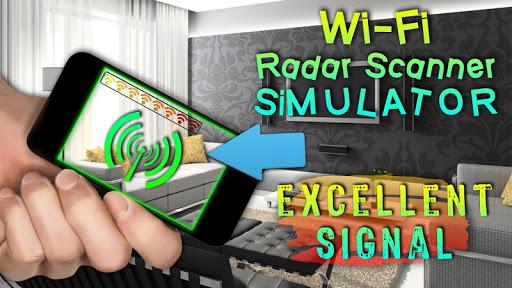 Wi-Fiレーダースキャナシミュレータ