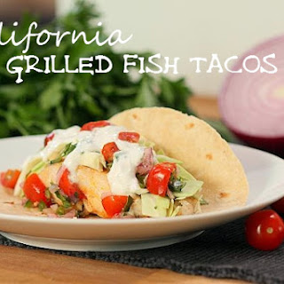 California Grilled Fish Tacos