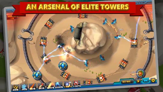 Tower Defense: Alien War TD 2 MOD (Unlimited Money) 4