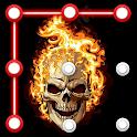 Skull Pattern Lock Screen icon
