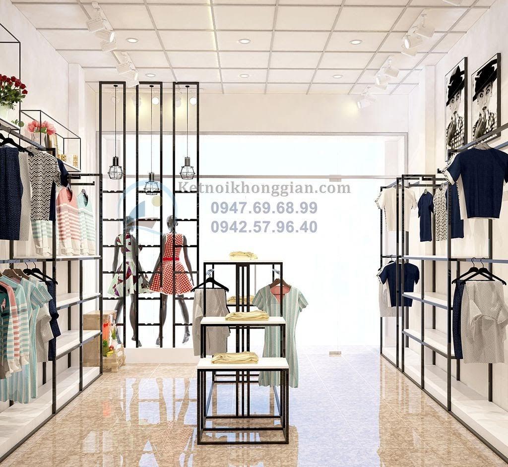 thiết kế shop thời trang hiện đại 20