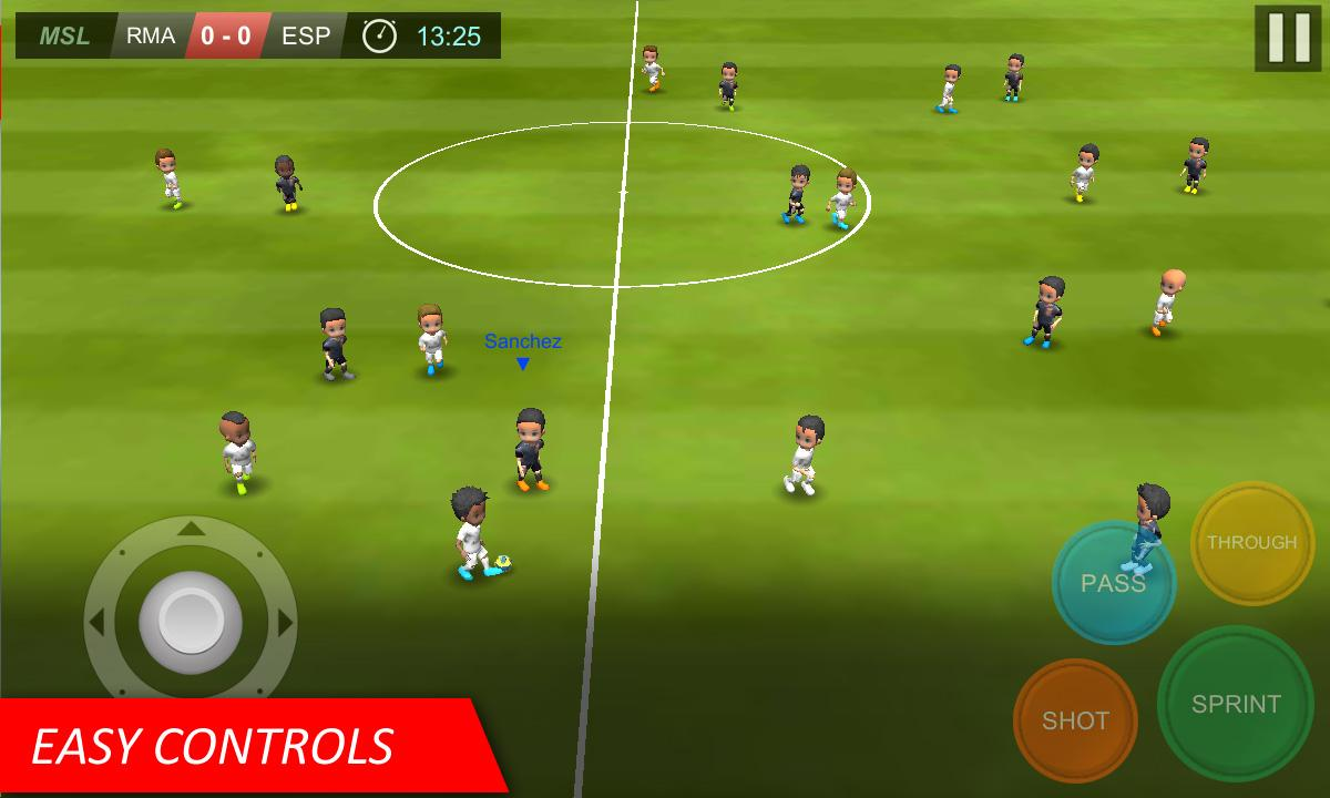 Mobile Soccer League- screenshot
