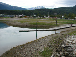 Photo: The boat launch ramp in Skagway Alaska where my trip ended.