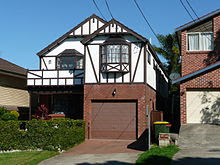 Tudor Revival home in Sydney