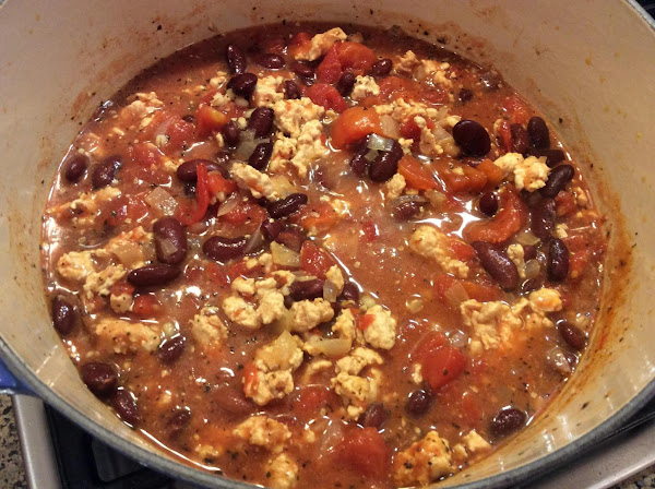Turkey Chili With Barley And Black Eyed Beans Recipe