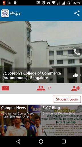 St.Joseph's  CollegeofCommerce Aplicaciones (apk) descarga gratuita para Android/PC/Windows screenshot