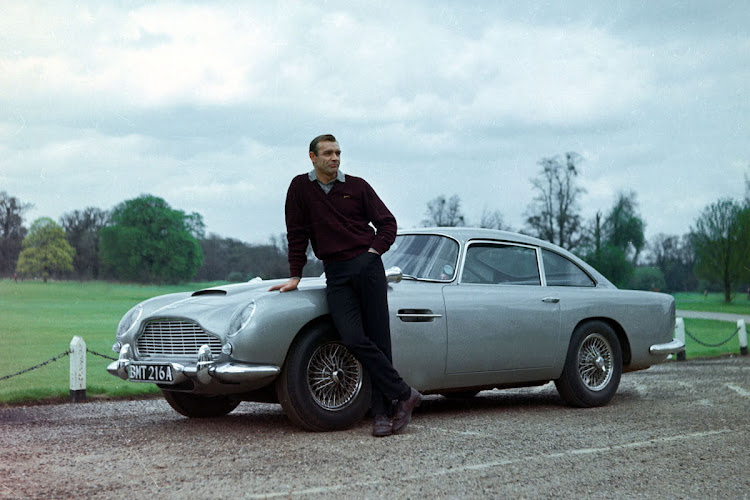 The Aston Martin DB5 driven by Sean Connery in 'Goldfinger' is being built again in a limited run of 25 cars. Picture: SUPPLIED
