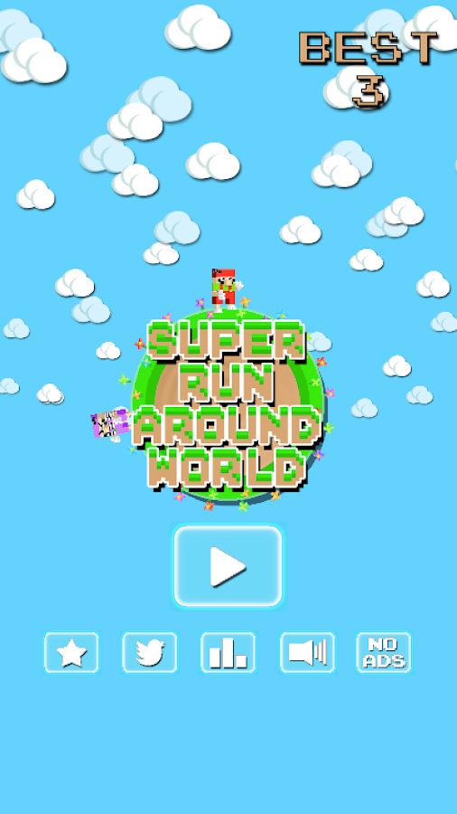Super Run Around World- screenshot