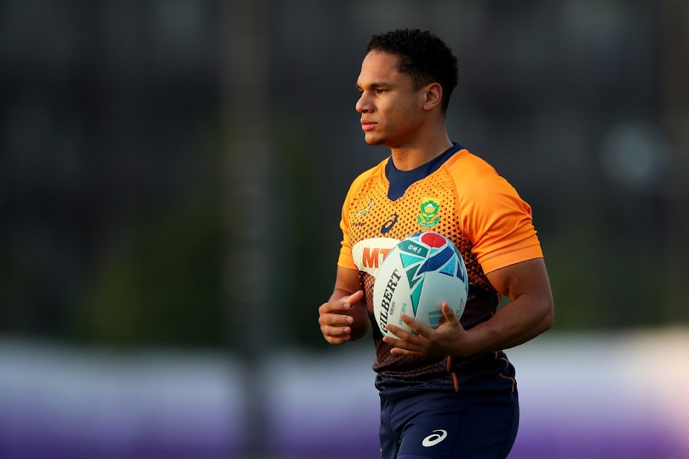 Springbok Herschel Jantjies nominated for World Rugby award
