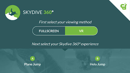 Virtual Reality 360º Skydive APK screenshot thumbnail 1