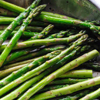 Pan-Fried Asparagus.