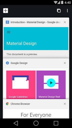 Chrome Beta 85.0.4183.59 screenshots 1