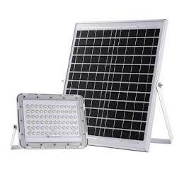 Proiector de lumina 60W cu panou solar si telecomanda