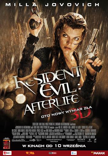 Polski plakat filmu 'Resident Evil: Afterlife'