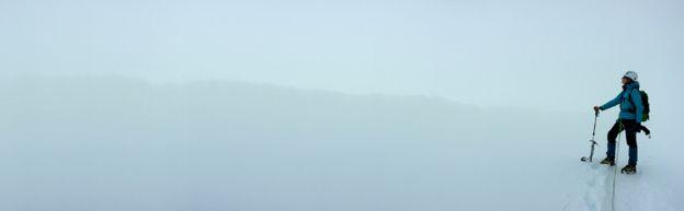 В тумане ориентироваться непросто