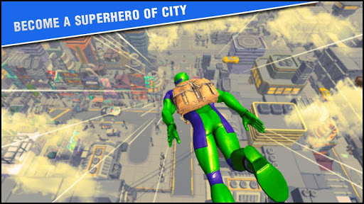 Superhero Firing Battlefield: Free Hero Game  captures d'écran 1