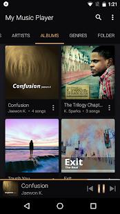 My Music Player Screenshot