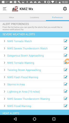 ABC 17 Stormtrack Weather App 4.5.903 screenshots 4