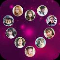 Lock screen heart icon