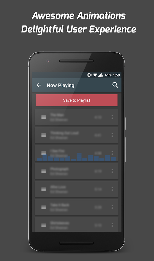 Pi Music Player: captura de pantalla