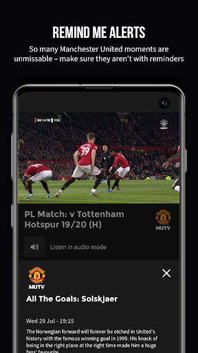 MUTV u2013 Manchester United TV 2.9.0 screenshots 7