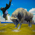 Bull Rampage Simulator 2019 : Bull Animal Sim Game icon