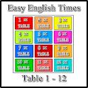 Easy English Times-Table 1 - 12 icon