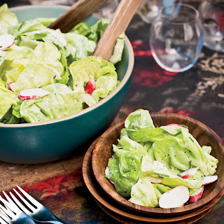Bibb-and-Radish Salad with Buttermilk Dressing.