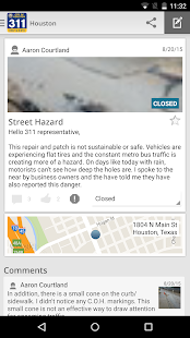 Houston 311- screenshot thumbnail