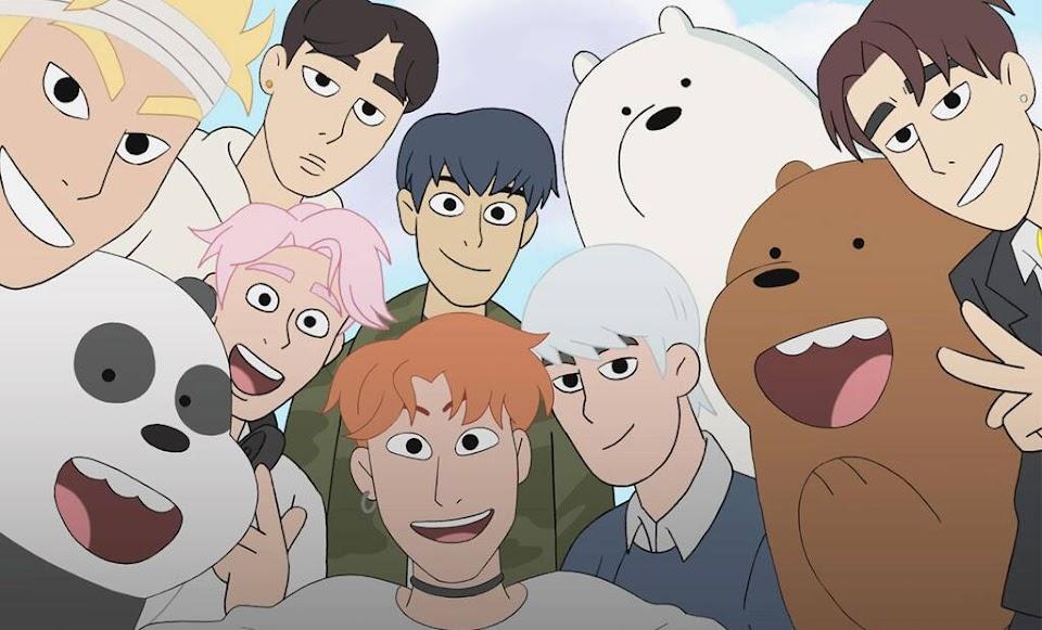 monsta x we bare bears