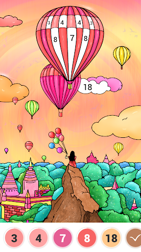 Art Number Coloring - Color by Number 3.9.4 screenshots 4