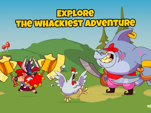 What the Hen: Enter the Dragons! apkmr screenshots 13