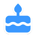 B'days - Birthday Reminder App icon