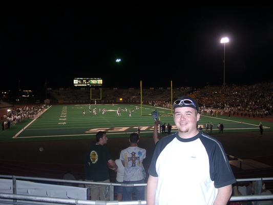 Photo: Me at a UNT game