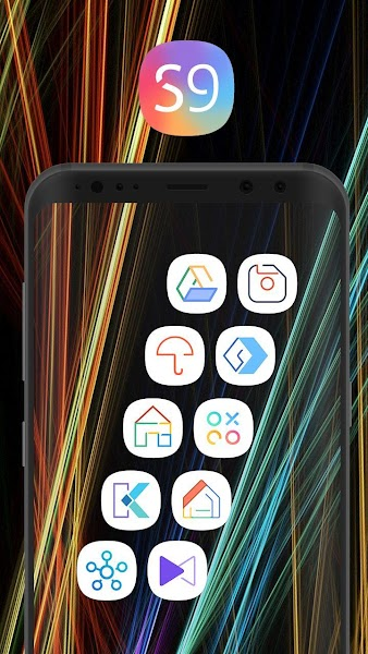 S9 Dream UI Icon Pack Screenshot Image