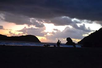 Photo: Watching sunrise