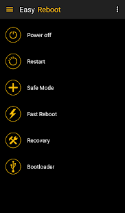 Easy Reboot for root users - náhled