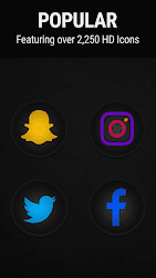 Stealth Icon Pack v5.1.1 APK 4