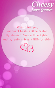 Cheesy Love Quotes Fair Cheesy Love Quotes  Android Apps On Google Play