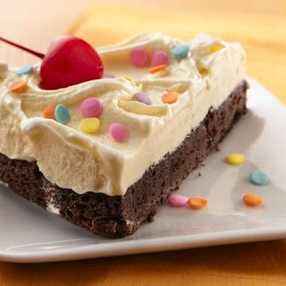 Brownie Ice Cream Torte