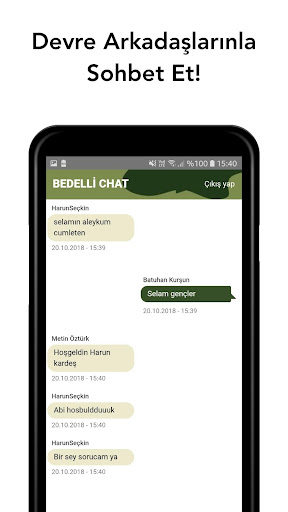 Bedelli Chat Preview 2