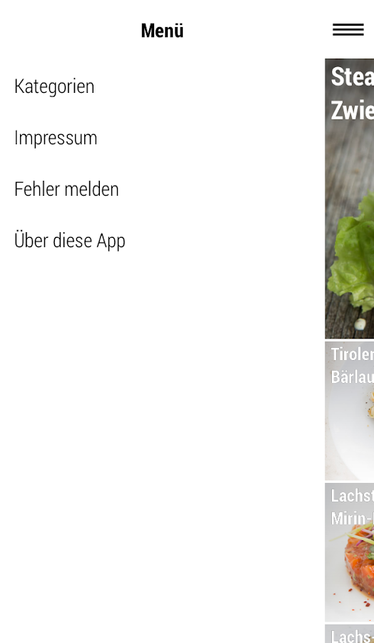 HighFoodality Rezepte- screenshot