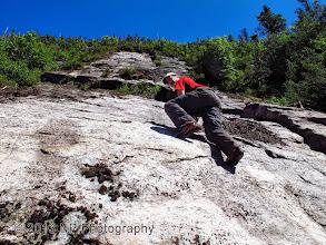 Photo: Getting steeper!