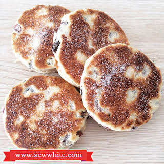 Welsh Cakes with a Sew White Twist.